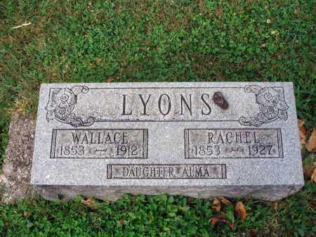 LYONS, ALMA - Fairfield County, Ohio   ALMA LYONS - Ohio Gravestone Photos