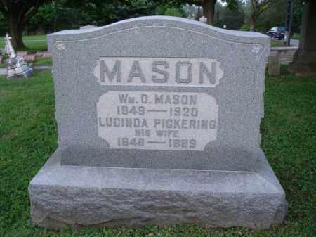 PICKERING MASON, LUCINDA - Fairfield County, Ohio | LUCINDA PICKERING MASON - Ohio Gravestone Photos
