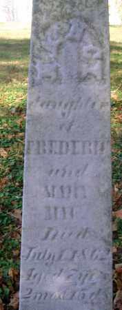 MAU, NANCY - Fairfield County, Ohio   NANCY MAU - Ohio Gravestone Photos