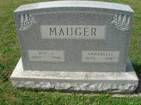 MAUGER, ANNABELLE - Fairfield County, Ohio | ANNABELLE MAUGER - Ohio Gravestone Photos