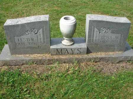 MAYS, LESTER - Fairfield County, Ohio | LESTER MAYS - Ohio Gravestone Photos