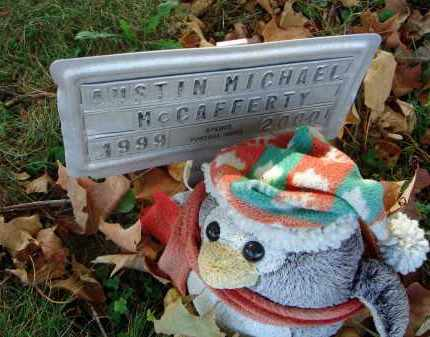 MCCAFFERTY, AUSTIN MICHAEL - Fairfield County, Ohio   AUSTIN MICHAEL MCCAFFERTY - Ohio Gravestone Photos