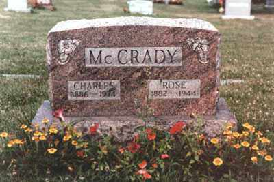SHONEBARGER MCCRADY, ROSE MARY - Fairfield County, Ohio | ROSE MARY SHONEBARGER MCCRADY - Ohio Gravestone Photos