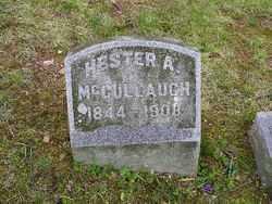 MCCULLAUGH, HESTER A. - Fairfield County, Ohio   HESTER A. MCCULLAUGH - Ohio Gravestone Photos
