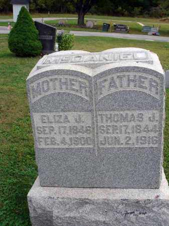 MCDANIEL, THOMAS J. - Fairfield County, Ohio | THOMAS J. MCDANIEL - Ohio Gravestone Photos