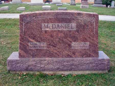 MCDANIEL, MARY M. - Fairfield County, Ohio   MARY M. MCDANIEL - Ohio Gravestone Photos