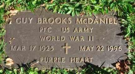 MCDANIEL, GUY BROOKS - Fairfield County, Ohio | GUY BROOKS MCDANIEL - Ohio Gravestone Photos