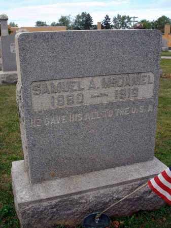 MCDANIEL, SAMUEL A. - Fairfield County, Ohio | SAMUEL A. MCDANIEL - Ohio Gravestone Photos