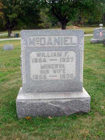 MCDANIEL, WILLIAM F. - Fairfield County, Ohio   WILLIAM F. MCDANIEL - Ohio Gravestone Photos