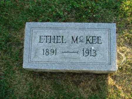 MCKEE, ETHEL - Fairfield County, Ohio | ETHEL MCKEE - Ohio Gravestone Photos