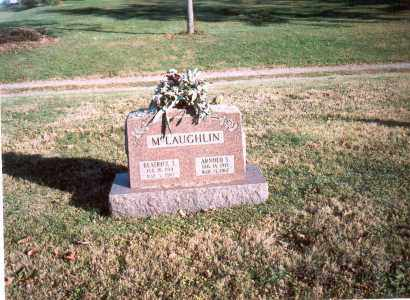 MCLAUGHLIN, ARNOLD S. - Fairfield County, Ohio | ARNOLD S. MCLAUGHLIN - Ohio Gravestone Photos