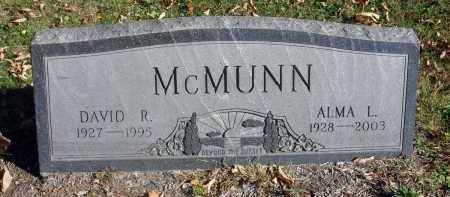 MCMUNN, ALMA L. - Fairfield County, Ohio   ALMA L. MCMUNN - Ohio Gravestone Photos