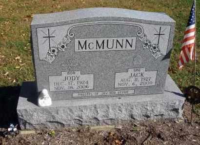 MCMUNN, JACK - Fairfield County, Ohio | JACK MCMUNN - Ohio Gravestone Photos