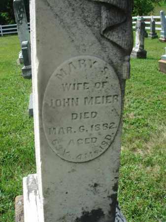 MEIER, MARY S. - Fairfield County, Ohio   MARY S. MEIER - Ohio Gravestone Photos