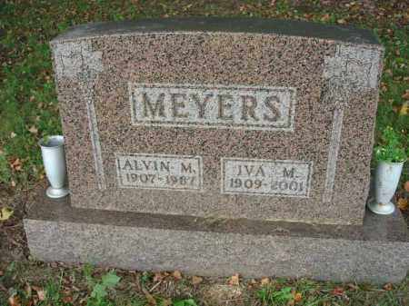 MEYERS, IVA M. - Fairfield County, Ohio | IVA M. MEYERS - Ohio Gravestone Photos