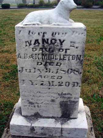 MIDDLETON, NANCY E. - Fairfield County, Ohio | NANCY E. MIDDLETON - Ohio Gravestone Photos