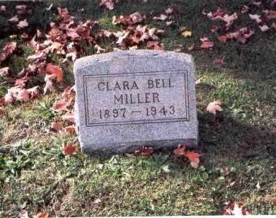 MILLER, CLARA BELL - Fairfield County, Ohio   CLARA BELL MILLER - Ohio Gravestone Photos