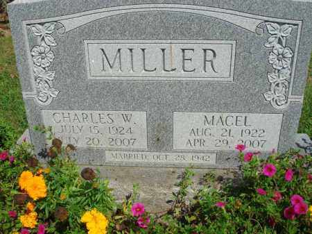 MILLER, CHARLES W. - Fairfield County, Ohio | CHARLES W. MILLER - Ohio Gravestone Photos