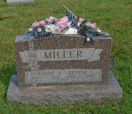 MILLER, LESTER E. - Fairfield County, Ohio | LESTER E. MILLER - Ohio Gravestone Photos