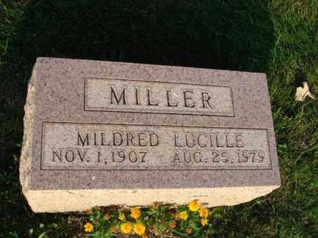 MILLER, MILDRED LUCILLE - Fairfield County, Ohio | MILDRED LUCILLE MILLER - Ohio Gravestone Photos
