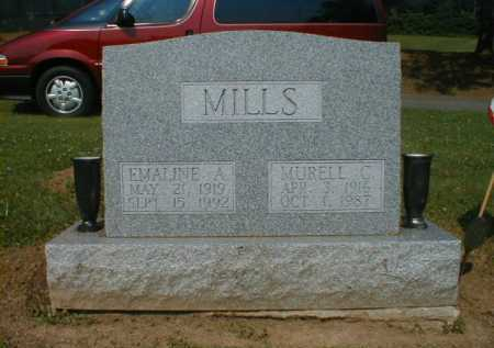 MILLS, EMALINE - Fairfield County, Ohio | EMALINE MILLS - Ohio Gravestone Photos