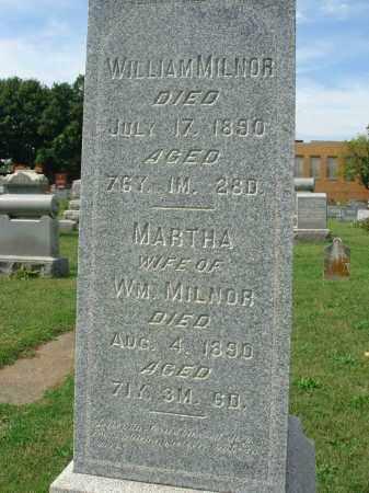 MILNOR, MARTHA - Fairfield County, Ohio | MARTHA MILNOR - Ohio Gravestone Photos