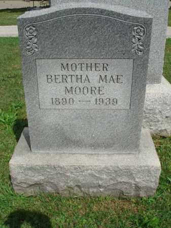 MOORE, BERTHA MAE - Fairfield County, Ohio   BERTHA MAE MOORE - Ohio Gravestone Photos