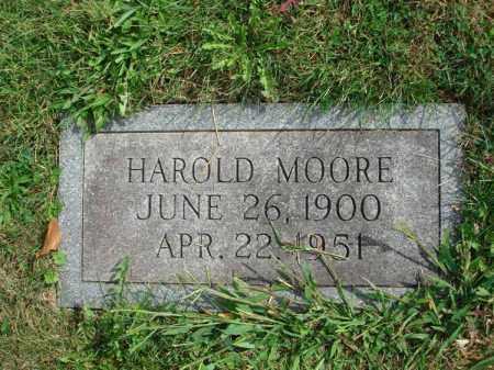 MOORE, HAROLD - Fairfield County, Ohio | HAROLD MOORE - Ohio Gravestone Photos