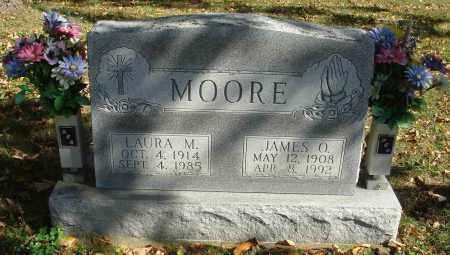 MOORE, LAURA M. - Fairfield County, Ohio | LAURA M. MOORE - Ohio Gravestone Photos