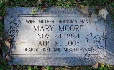 MOORE, MARY - Fairfield County, Ohio   MARY MOORE - Ohio Gravestone Photos