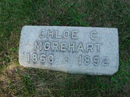 MOREHART, CHLOE C. - Fairfield County, Ohio | CHLOE C. MOREHART - Ohio Gravestone Photos