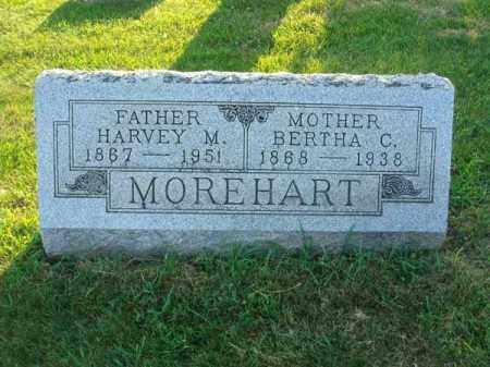 MOREHART, HARVEY M. - Fairfield County, Ohio | HARVEY M. MOREHART - Ohio Gravestone Photos