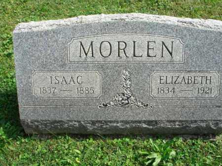 MORLEN, ISAAC - Fairfield County, Ohio | ISAAC MORLEN - Ohio Gravestone Photos