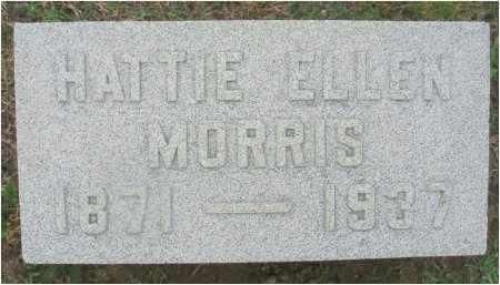 MORRIS, HATTIE ELLEN - Fairfield County, Ohio | HATTIE ELLEN MORRIS - Ohio Gravestone Photos