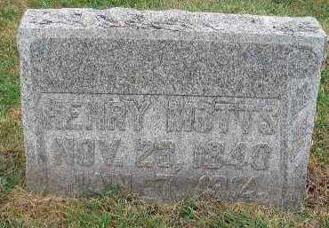 MOTTS, HENRY - Fairfield County, Ohio | HENRY MOTTS - Ohio Gravestone Photos