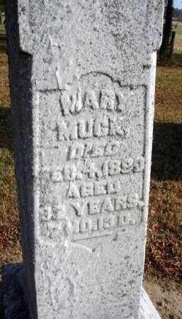 MUCK, MARY - Fairfield County, Ohio   MARY MUCK - Ohio Gravestone Photos
