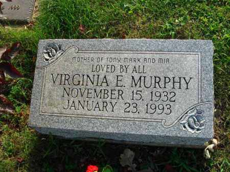 MURPHY, VIRGINIA E. - Fairfield County, Ohio | VIRGINIA E. MURPHY - Ohio Gravestone Photos