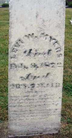 MYERS, LEVI W. - Fairfield County, Ohio   LEVI W. MYERS - Ohio Gravestone Photos