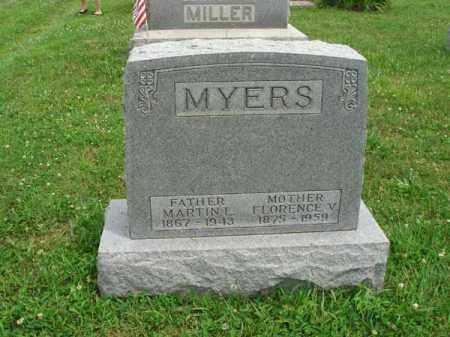 MYERS, MARTIN L. - Fairfield County, Ohio   MARTIN L. MYERS - Ohio Gravestone Photos