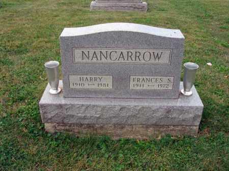 NANCARROW, HARRY - Fairfield County, Ohio | HARRY NANCARROW - Ohio Gravestone Photos