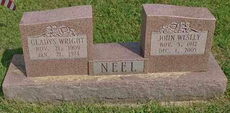 NEEL, GLADYS - Fairfield County, Ohio | GLADYS NEEL - Ohio Gravestone Photos
