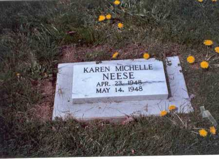 NEESE, KAREN MICHELLE - Fairfield County, Ohio | KAREN MICHELLE NEESE - Ohio Gravestone Photos