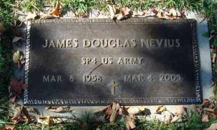 NEVIUS, JAMES DOUGLAS - Fairfield County, Ohio | JAMES DOUGLAS NEVIUS - Ohio Gravestone Photos