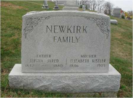 KISTLER NEWKIRK, ELIZABETH LORAINE - Fairfield County, Ohio | ELIZABETH LORAINE KISTLER NEWKIRK - Ohio Gravestone Photos