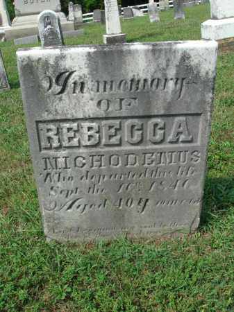 NICHODEMUS, REBECCA - Fairfield County, Ohio | REBECCA NICHODEMUS - Ohio Gravestone Photos