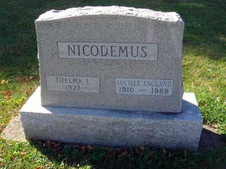 NICODEMUS, LUCILLE - Fairfield County, Ohio | LUCILLE NICODEMUS - Ohio Gravestone Photos