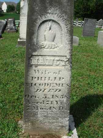 NICODEMUS, NANCY - Fairfield County, Ohio   NANCY NICODEMUS - Ohio Gravestone Photos