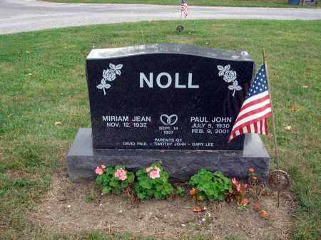 NOLL, PAUL JOHN - Fairfield County, Ohio   PAUL JOHN NOLL - Ohio Gravestone Photos
