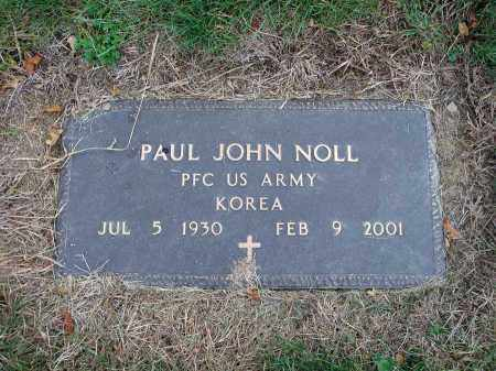 NOLL, PAUL JOHN - Fairfield County, Ohio | PAUL JOHN NOLL - Ohio Gravestone Photos