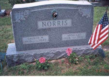 NORRIS, ANNA LEE - Fairfield County, Ohio | ANNA LEE NORRIS - Ohio Gravestone Photos